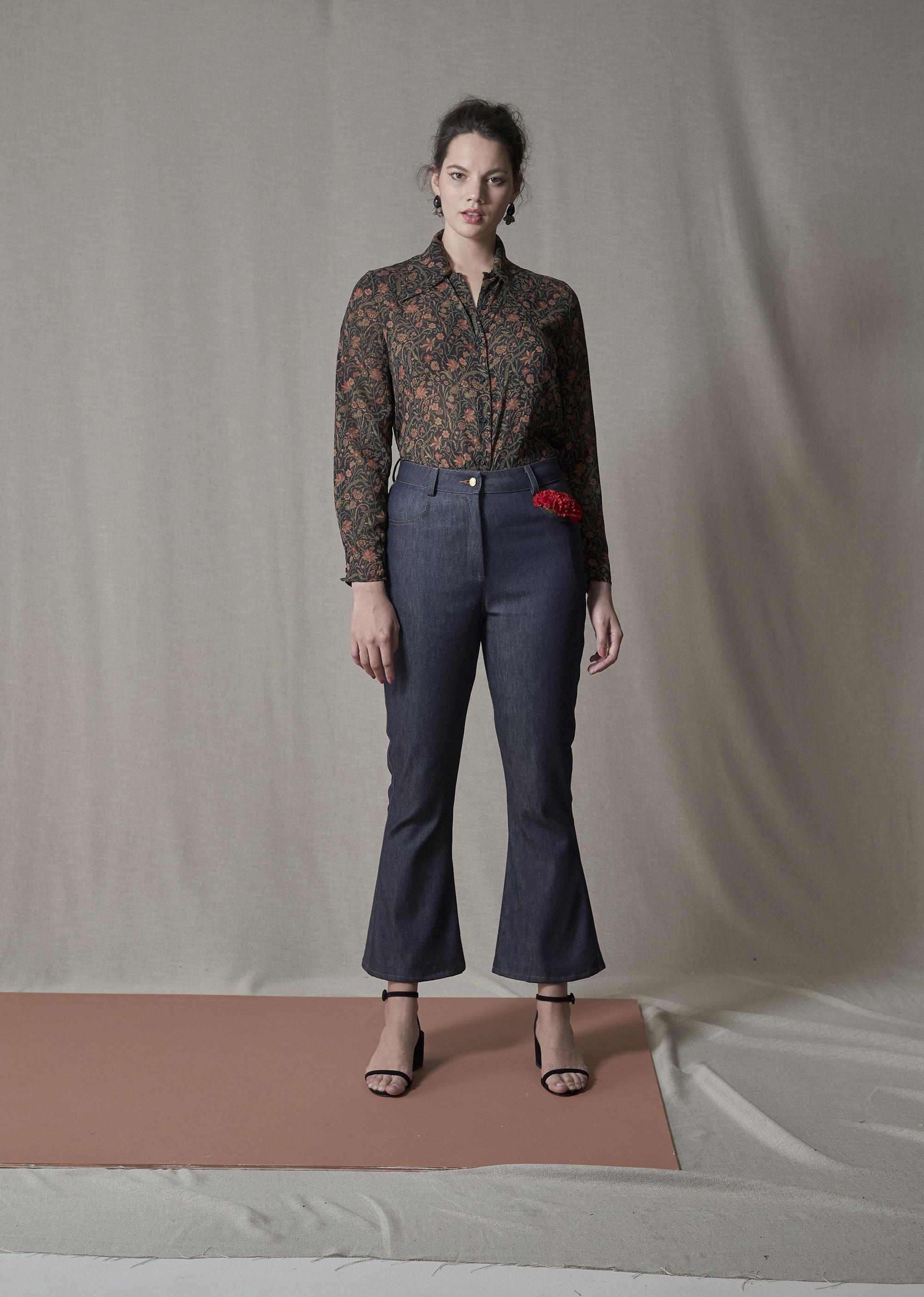 Liam Park Shirt & Aro Jean