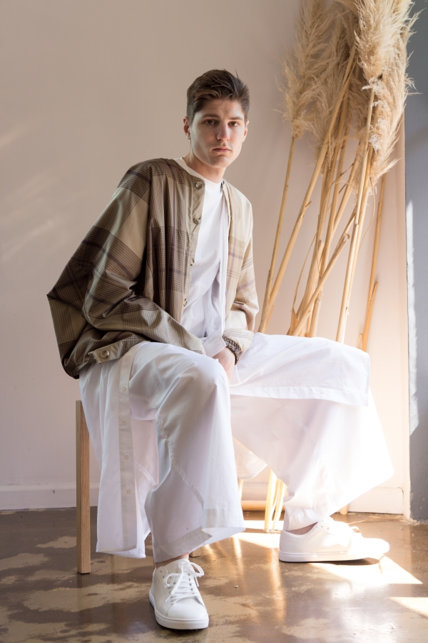 Kate Fisher's androgenous collection Club Daydreamers