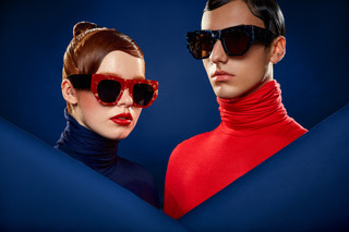 aged eyewear campaign poster