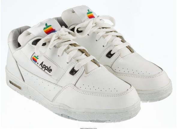 Apple's sneakers in the 90s.