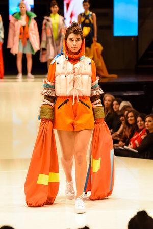 2018 iD International Emerging Designer Awards - Lisa Liu. Dunedin Town Hall, Dunedin, New Zealand. Friday 4 May 2018. Photo: Chris Sullivan/iD Dunedin