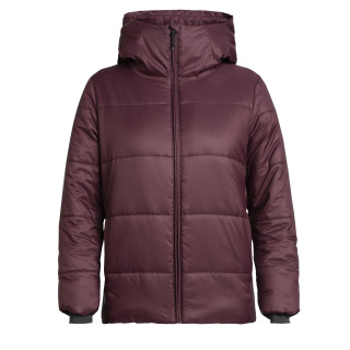 Womens Collingwood Hooded Jacket - Purple RRP_ $449.99