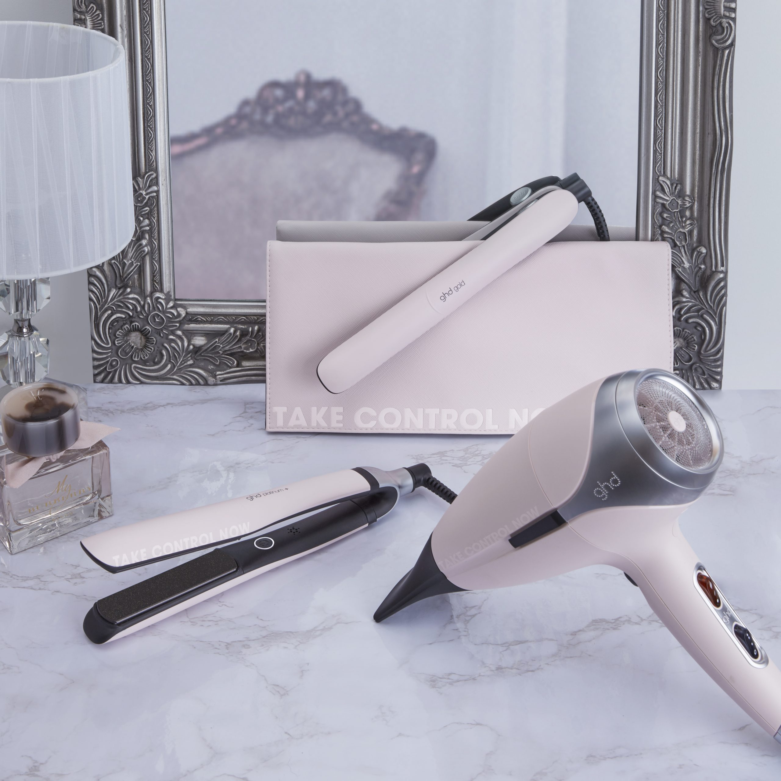 ghd Pink_group image_Campaign Imagery