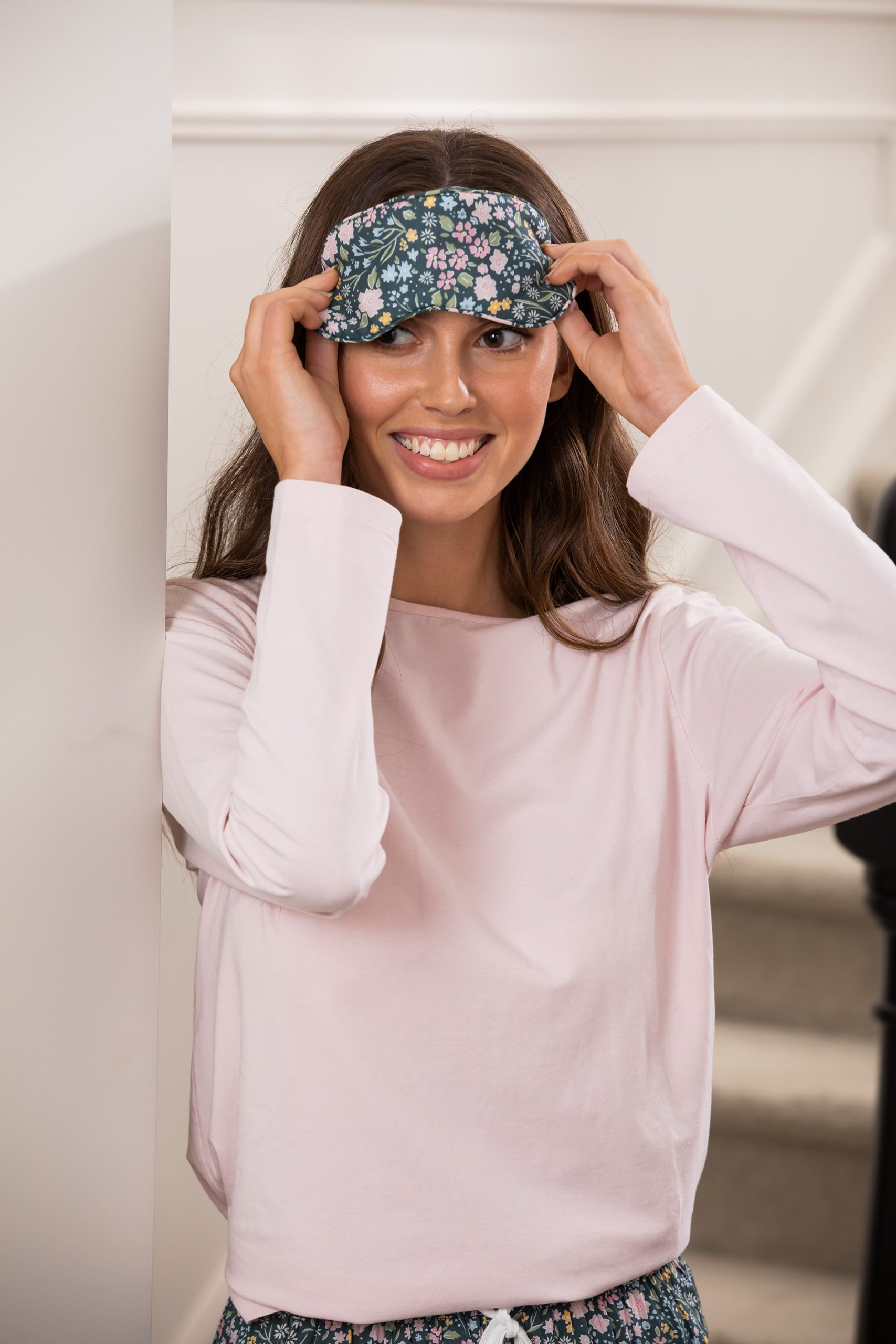 Wallace Cotton Jacinda Eye Mask $9.90 Asha Long Sleeve Tee Rose Pink $49.90