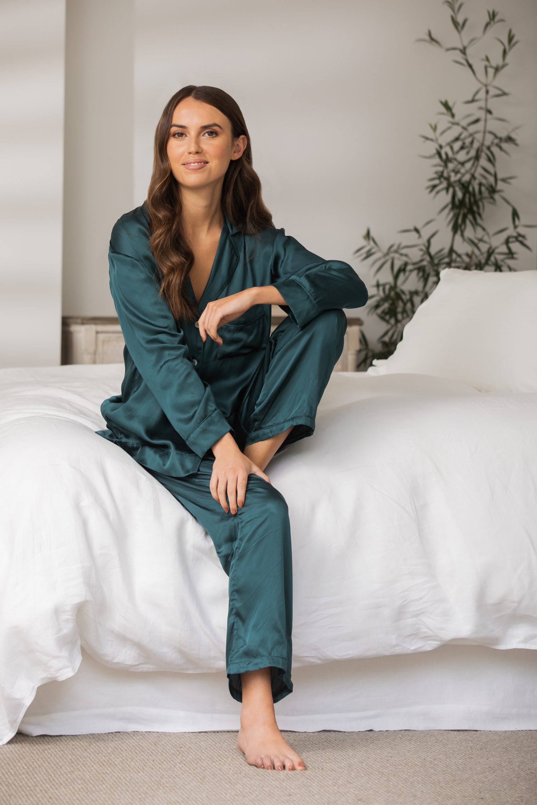 Wallace Cotton Mother of Pearl PJ Shirt $79.90 PJ Pants 3 $79.90