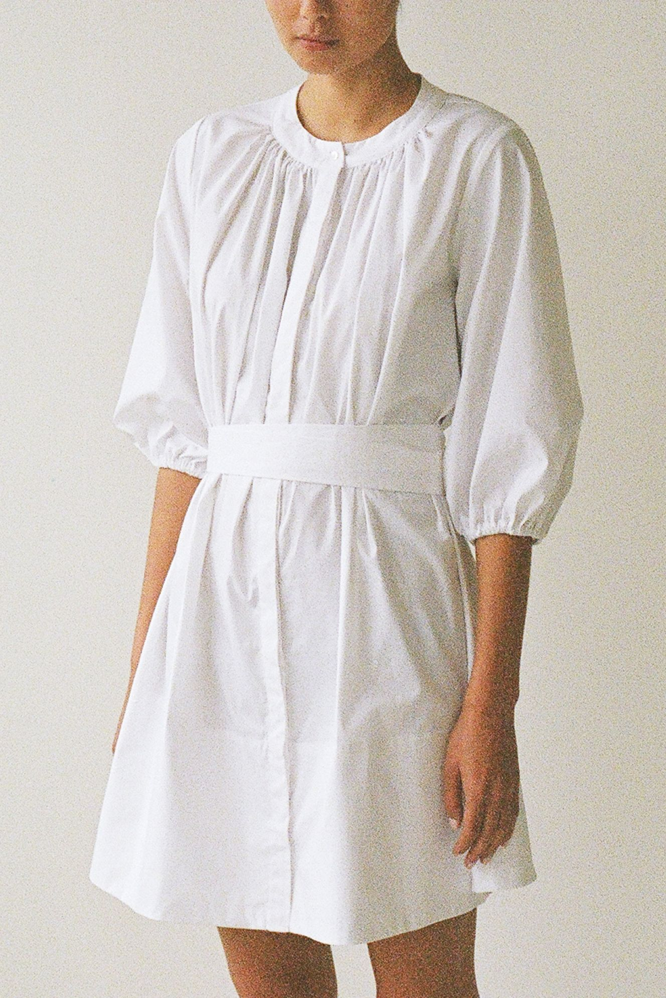 Bud dress - Ellis Label - Cotton poplin - Made to order design_0027_83120016