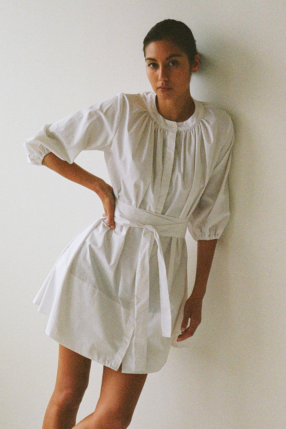 Bud dress - Ellis Label - Cotton poplin - Made to order design_0034_83120029