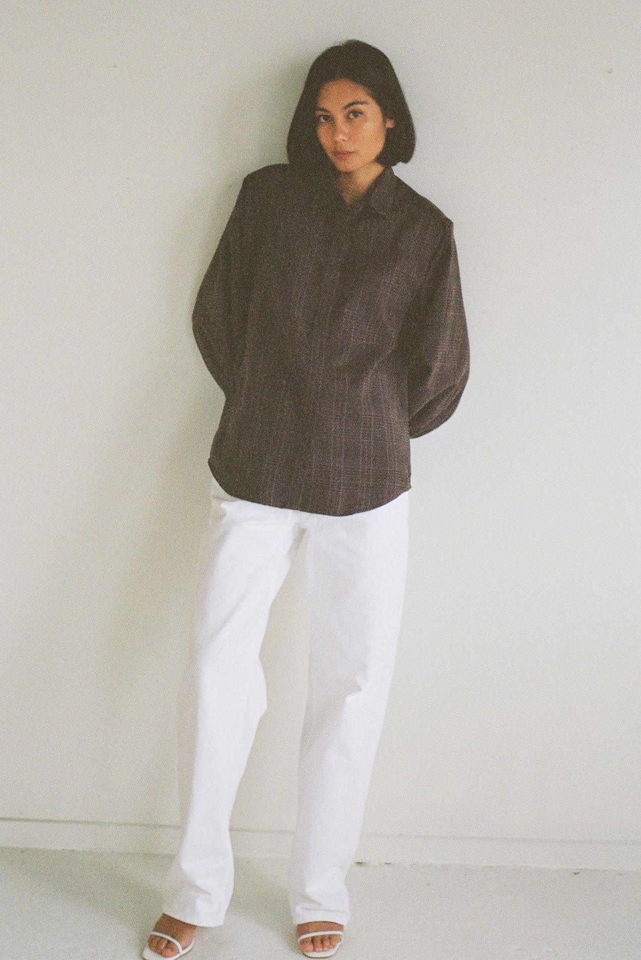 Mes deux shirt - Flannel - Ellis Label - Womens designer clothing NZ_0054_82970032